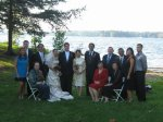 After the wedding, my family